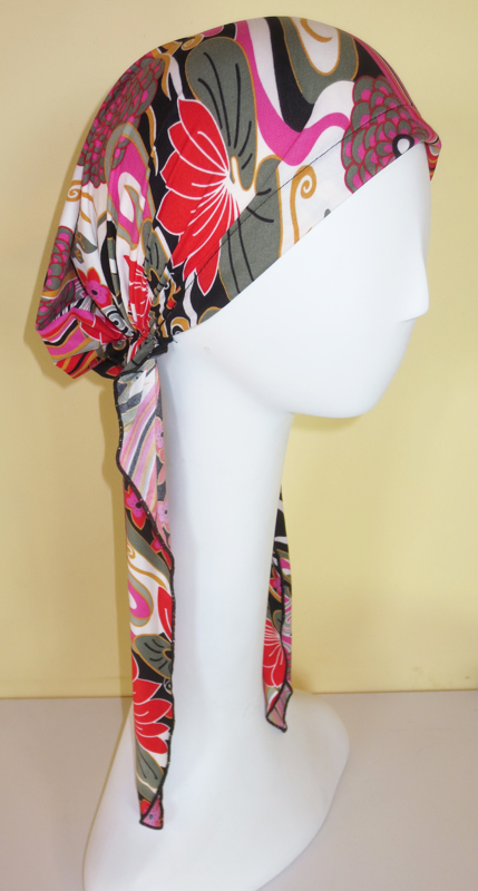 Exotic Garden - Long Pre-tied Scarf