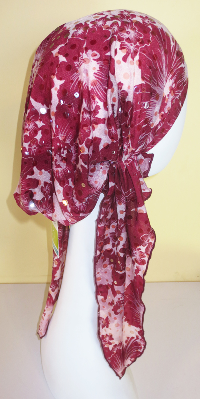 Flower Burst - Long Pre-tied Scarf