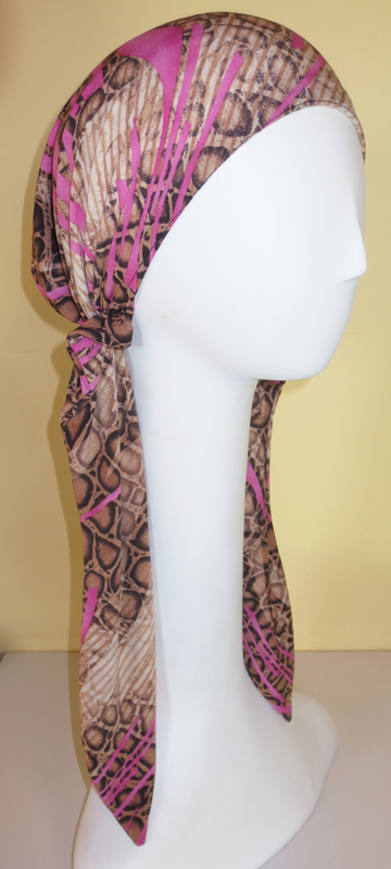 Lady Brook - Long Pre-tied Scarf