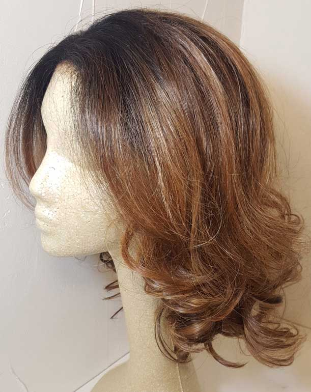 Two-Tone Lace-Front Wig