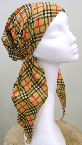 Sherlock Plaid - Long Easy Scarf
